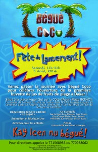 Begue Coco Fete de Lancement